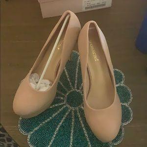 Blush ShoeDazzle pumps